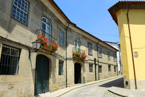 Rua de Santa María en Guimaraes