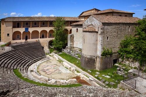 Teatro romano de Spoleto