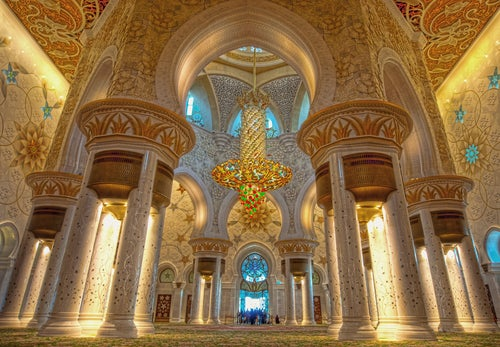 Interior de Sheikh Zayed