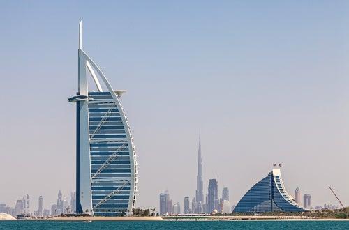 Burj Al Arab en Dubái, el único hotel de 7 estrellas