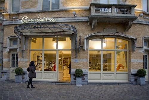 Chocolatería en Gante
