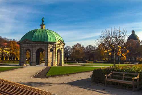 Recorremos los amplios y hermosos parques de Múnich