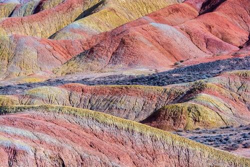 Colores en Zhangye