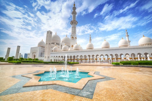 La espectacular mezquita de Sheikh Zayed