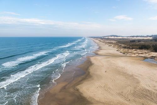 La impresionante Praia do Cassino en Brasil