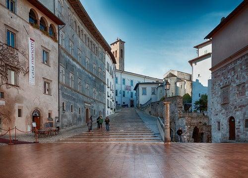 Plaza del Duomo de Spoleto