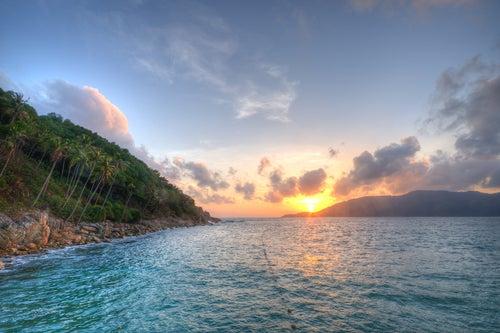 Atardecer en Islas Perhentian