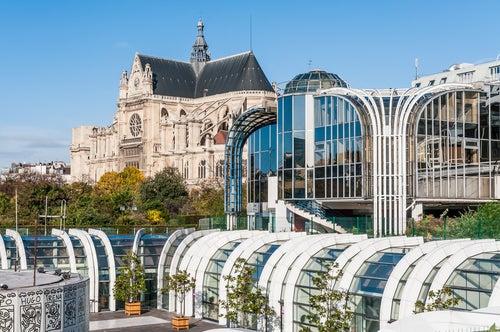 Les Halles en París