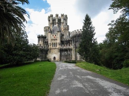 Castillo de Butrón en el País Vasco