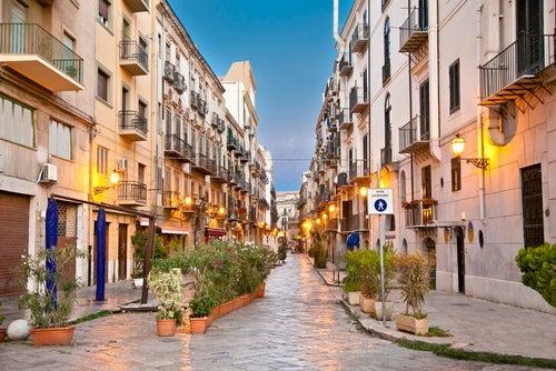 Barrio de Kalsa en Palermo