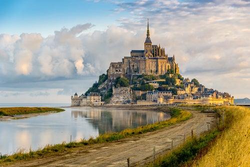 Mont Saint-Michel en Francia