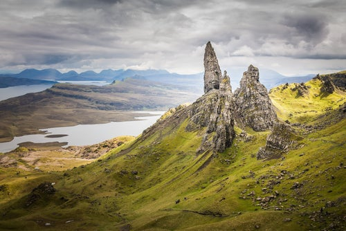 Old Man on Storr en la isla de Skye