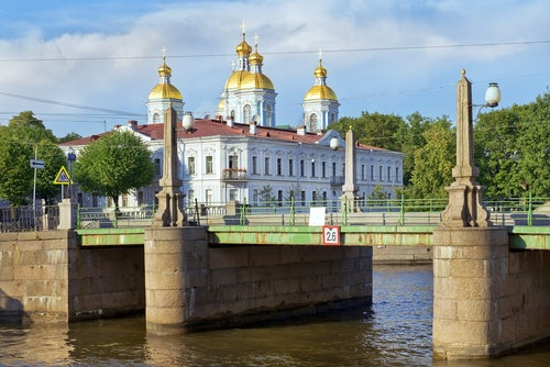 Puente Pikalov en San Petersburgo