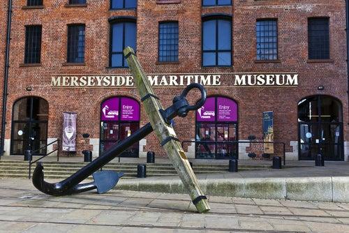 Merseyside Maritime Museum en Liverpool