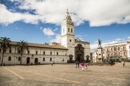 Quito, reliquia de la arquitectura colonial