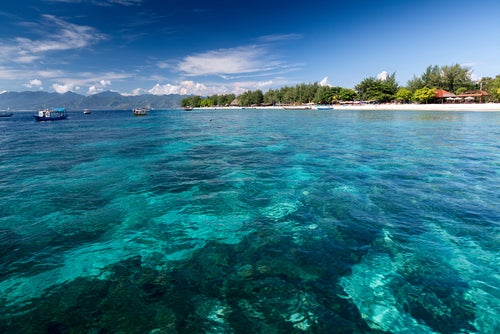 Costa de islas Gili