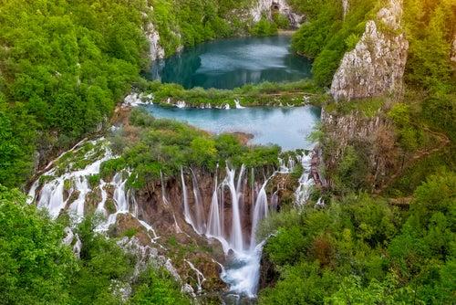 Los maravillosos lagos de Plitvice en Croacia