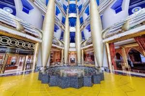Interior del hotel Burj Al Arab