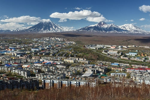 Petropavlovsk en Kamchatka