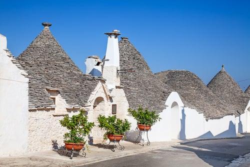 Los trulli de Alberobello, unas construcciones de fantasía