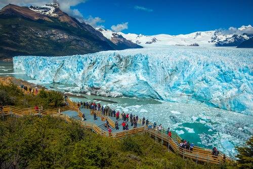 Glaciar Perito Moreno en La Patagonia