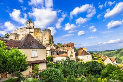 Castelnaud en Dordoña
