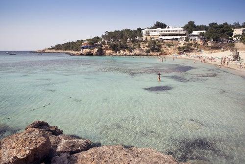Cala Portinatx en Ibiza