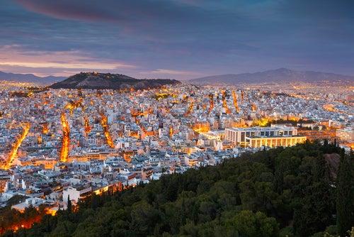 Atenas desde el monte Licabeto