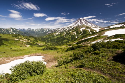 Volcán Shape en Kamchatka