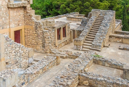 Ruinas del palacio de Knossos