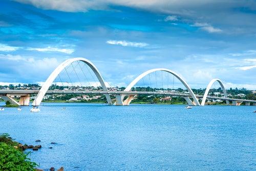 Puente JK en Brasilia