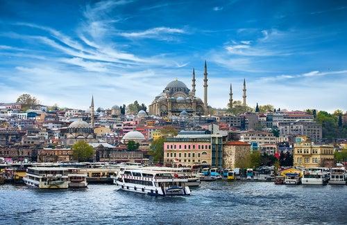 Skyline de Estambul