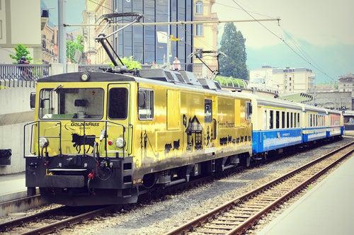 Tren del Choclate en Suiza