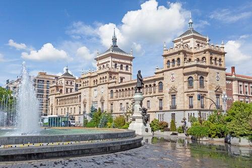 Paseando por la ciudad de Valladolid