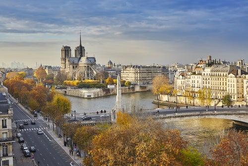 Îlle de la Cité en París