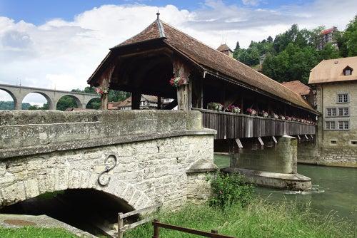 Puente de Berna en Friburgo