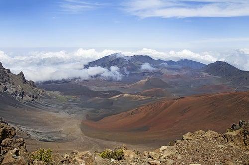 Volcán Haleakala en Hawaii
