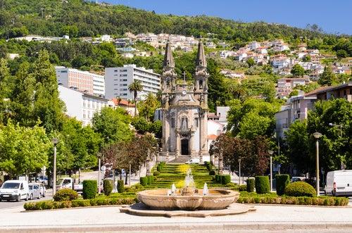 La ciudad de Guimaraes, allí nació Portugal