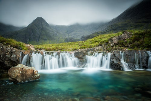 Fairy Pools en la isla de Skye