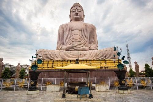 Bodh Gaya en la india