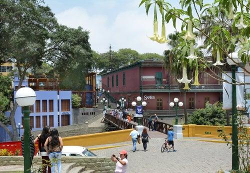 Puente de los Suspiros de Lima