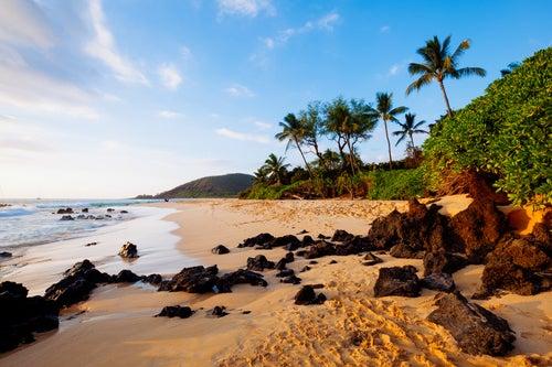 Makena Beach en Hawaii