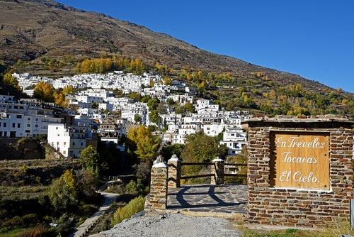 Trevélez uno de lo spueblos más bonitos de la Alpujarra