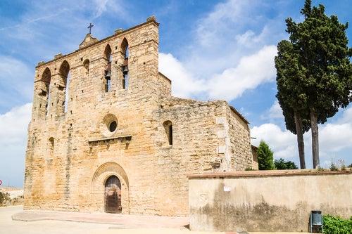 Iglesia de San Esteve en Peratallada