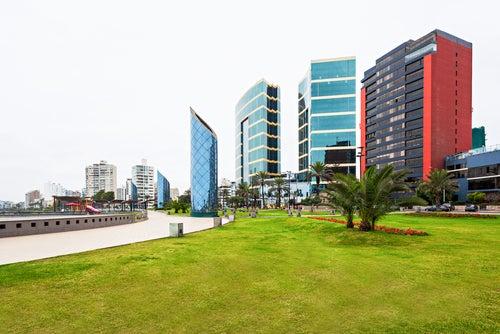 Distrito de Miraflores en Lima