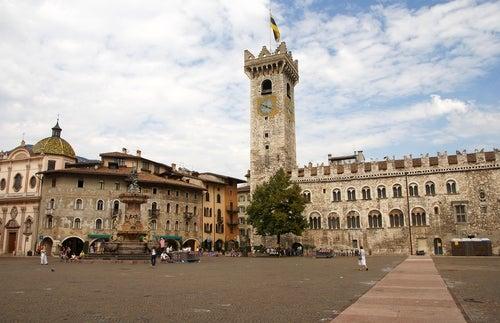 Trento, ciudad escondida en los Alpes