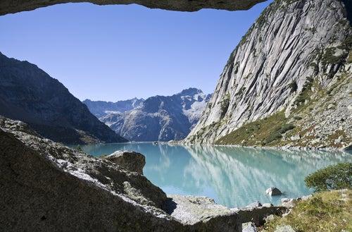 Lago Gelmersee en Suiza