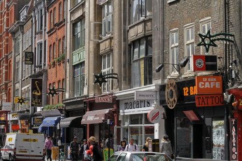 Denmark Street en Londres