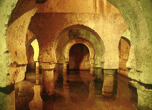 Cisterna árabe en Cáceres