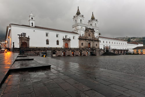 Iglesia de San Francisco en Quito